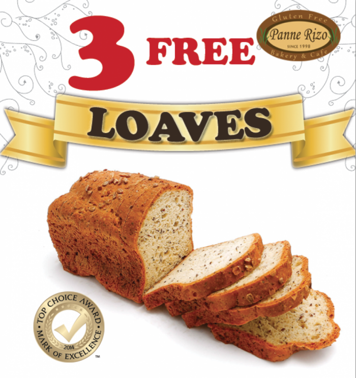 3 FREE Loaves